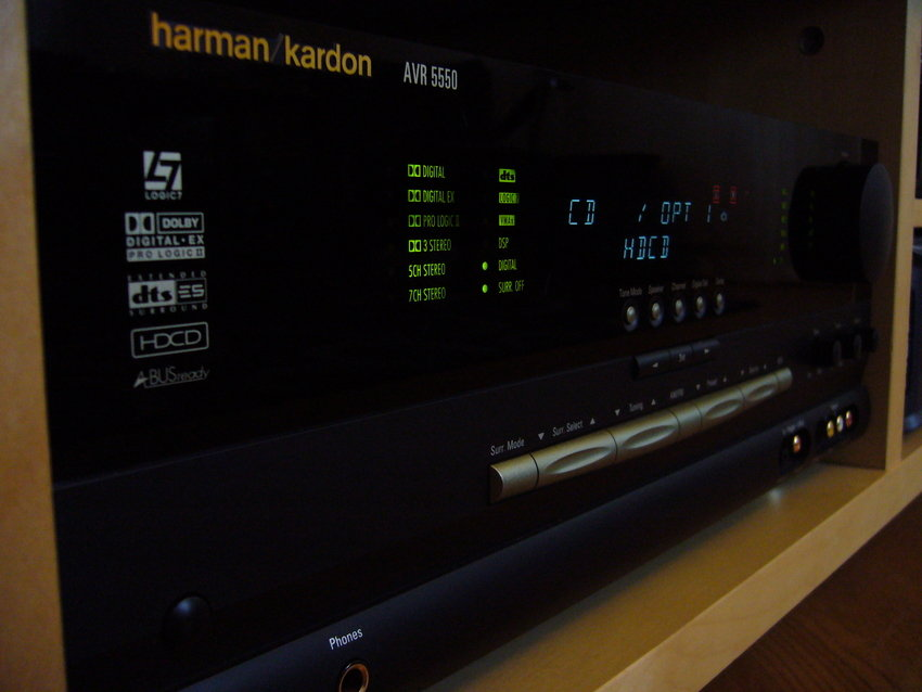 H/K receivern som puttar på