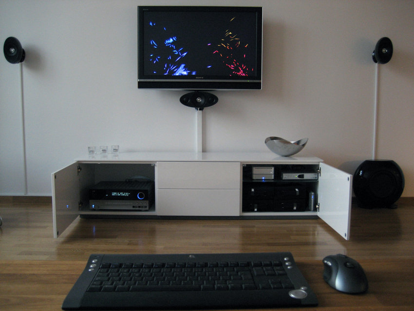 Sony Bravia Cable Management