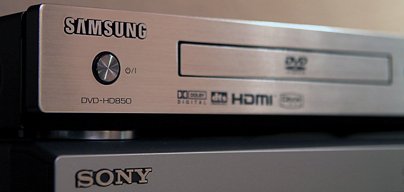 Samsung DVD-HD850 & Sony STR-DE495