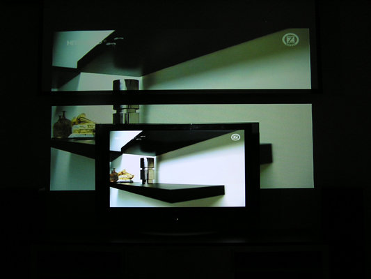 Picture in Picture nu med släckta lampor