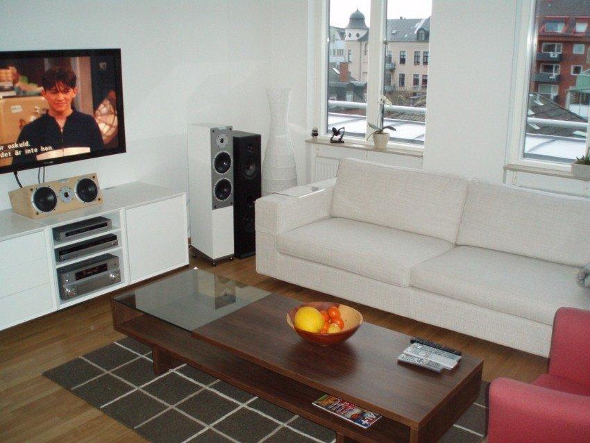 Soffan och soffbordet