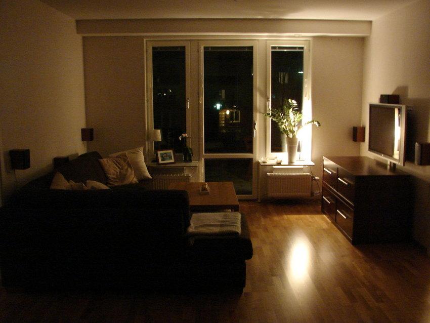En överblick över vardagsrummet