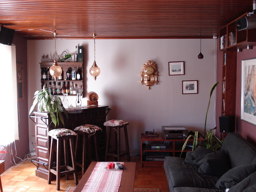 Vardagsrummet från sidan