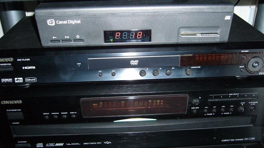 CD HD, Dvd spelare och CD Spelare