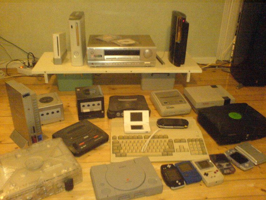 Mina konsoler