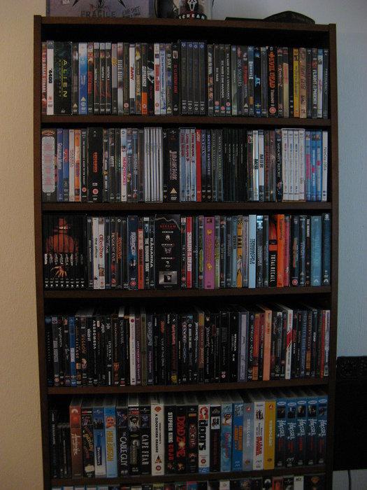 DVD-samlingen i maj.