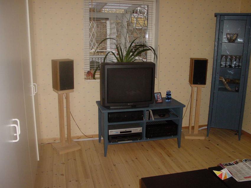 Sovrummet skulle vara TV-rum ...