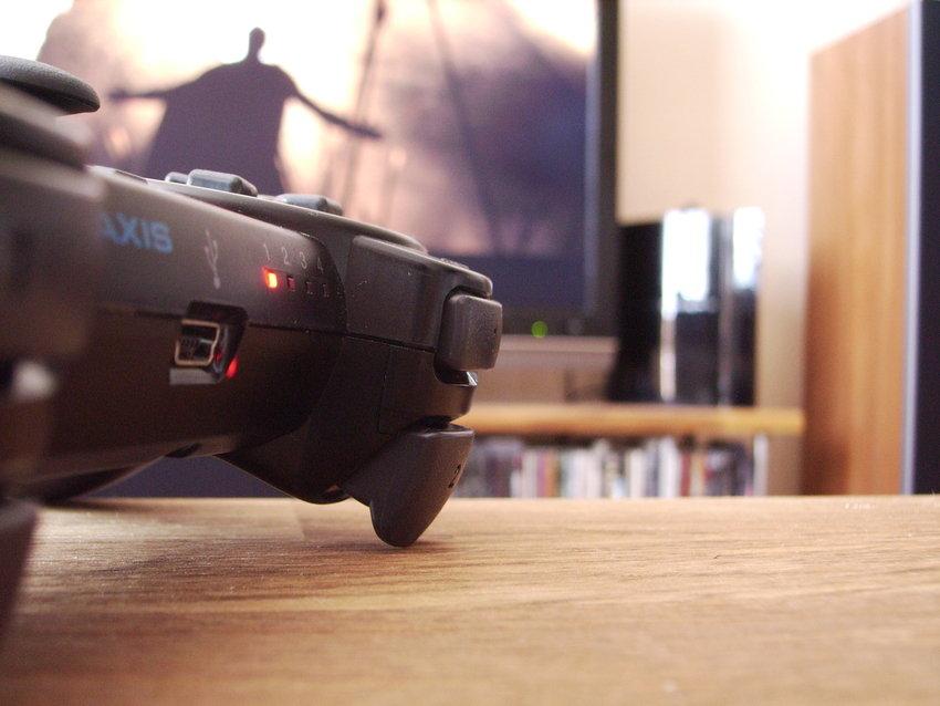 Dammig macrobild med dassig kamera