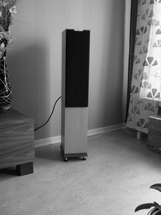 Silkeslen högtalare med tryck!...