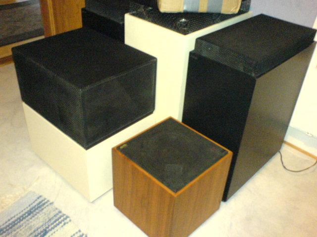 4 olika Sonab / Carlsson