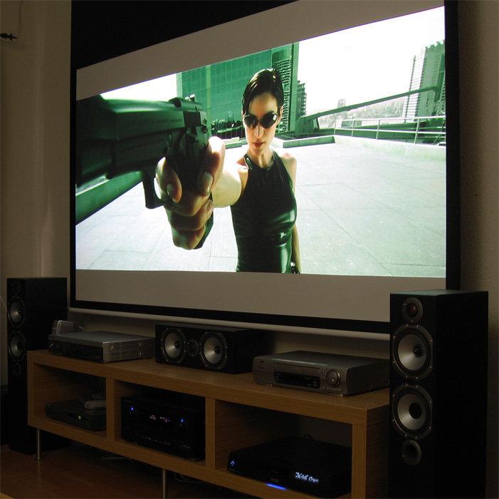 Epson TW-1000 & Matrix HD DVD 1080p
