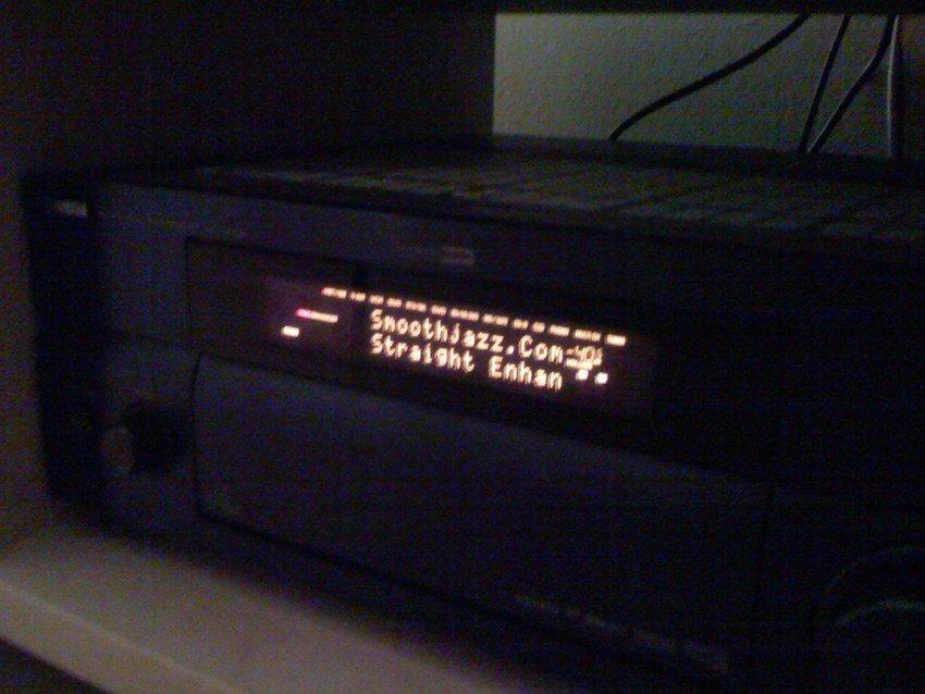 Webradio i displayen