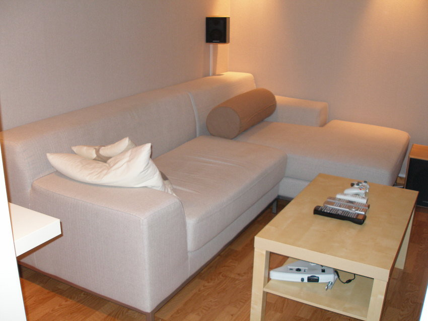 IKEA soffa och bord!