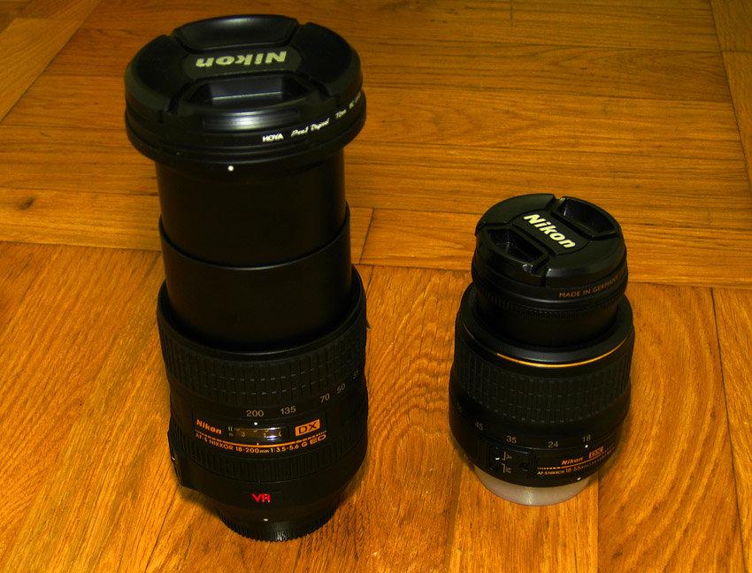 Nikon AF-S DX 18-200 VR