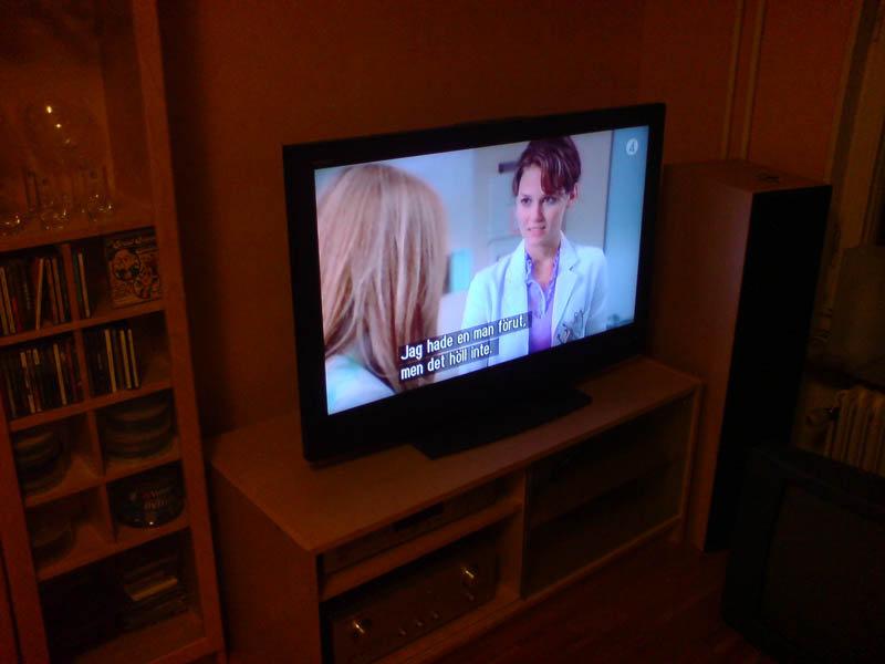 Nu är TVn köpt.