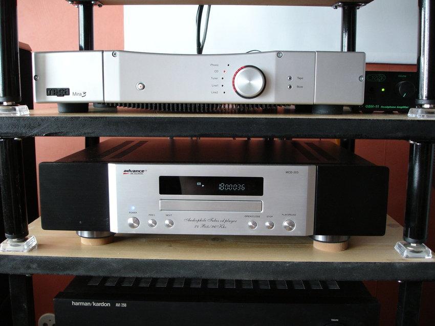 Rega Mira 3 - Advance Acoustic MCD-203 - Creek OBH-11