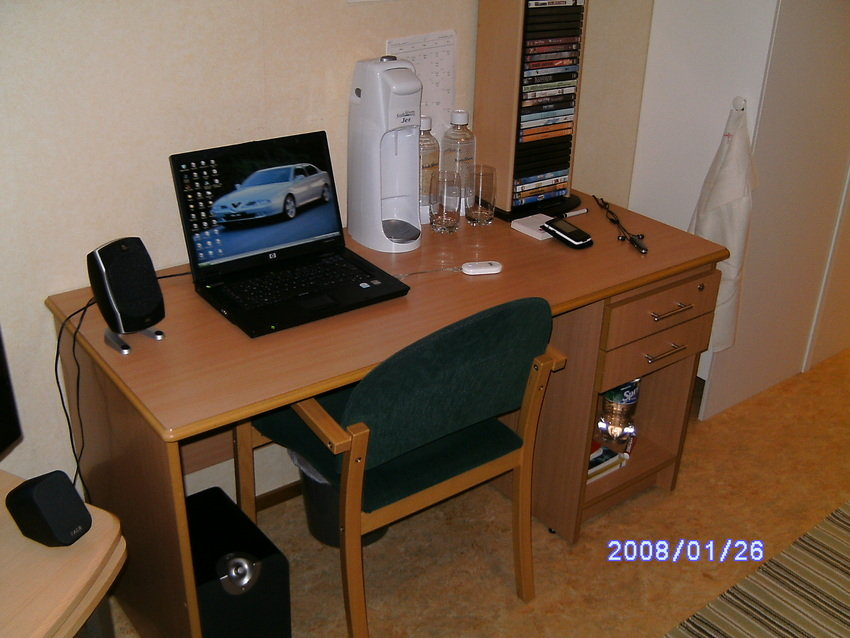 Skrivbordet :)
