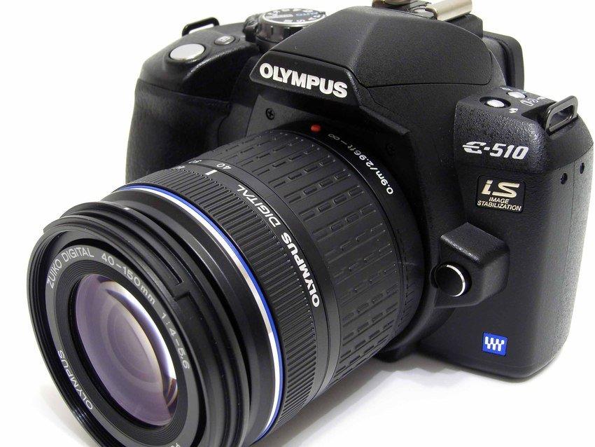 Kameran med telezoomen 40-150 mm som jag inte köpte med kamerapaketet utan senare.