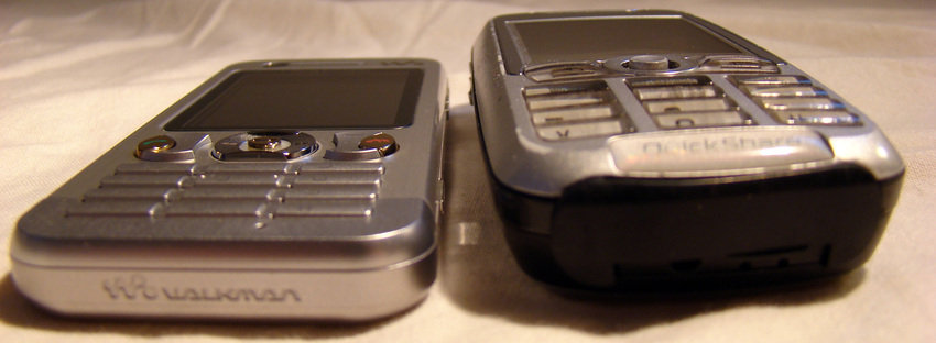Jämförelse med K700i