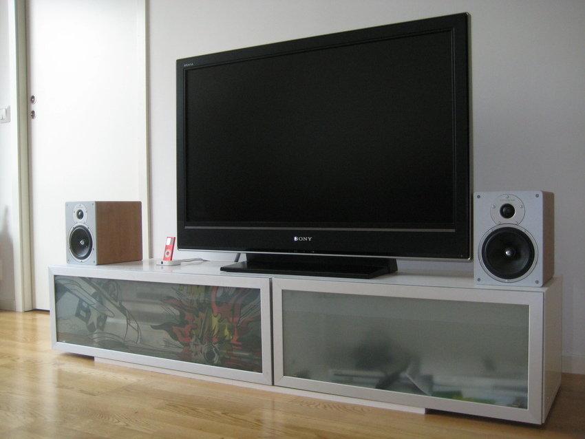 Tv/stereobänken