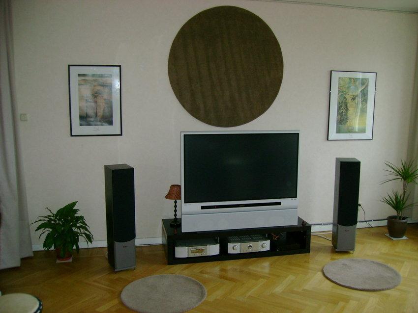 Akustikförbättring? på vägg och golv