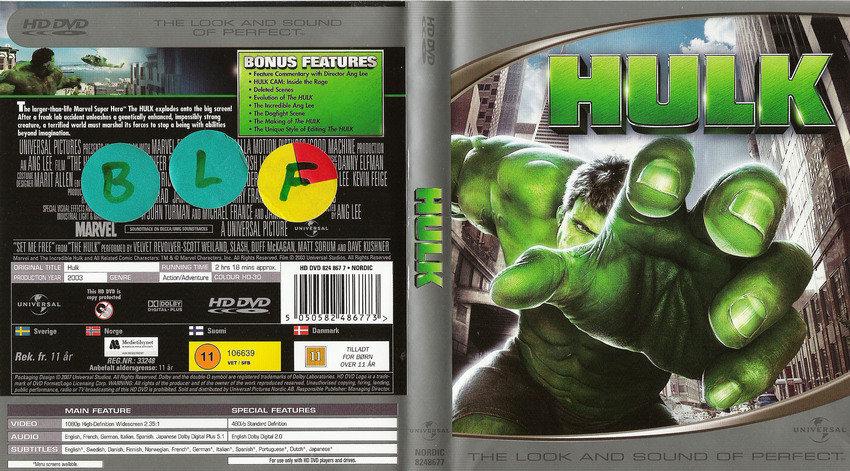 hulk [HD-DVD]