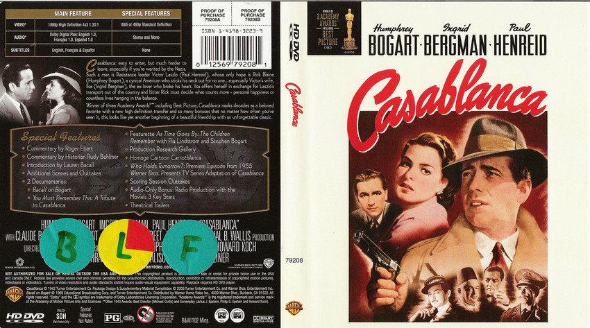 casablanka [HD-DVD]   en klassiker på hd!!