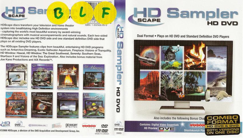 hd sampler [HD-DVD]