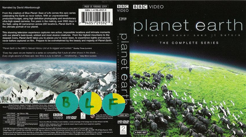 planet earth [HD-DVD]
