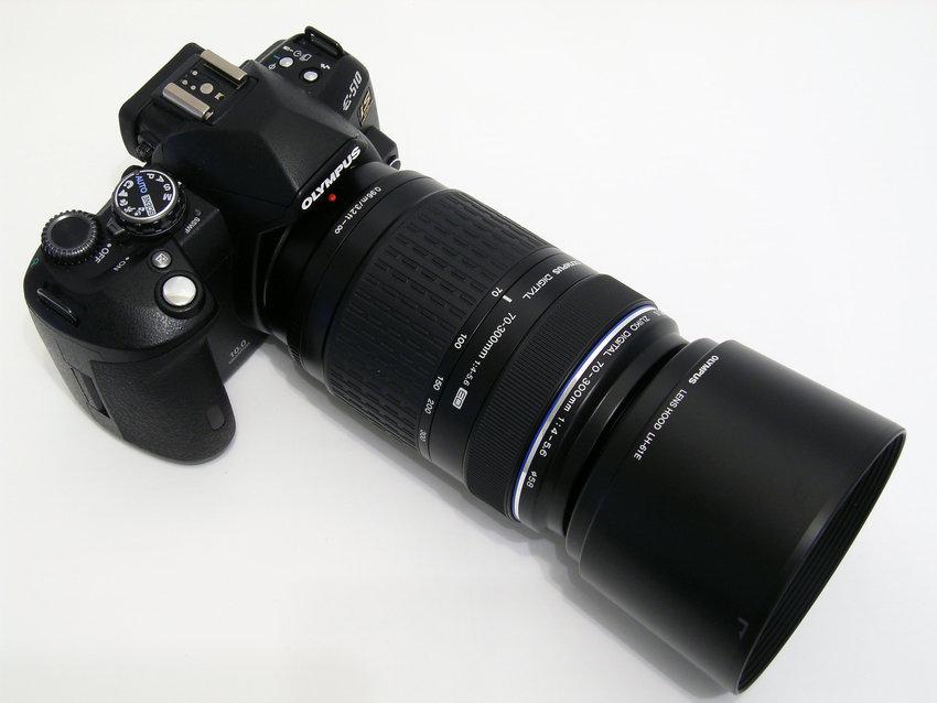 Olympus E-510 med ZD 70-300mm