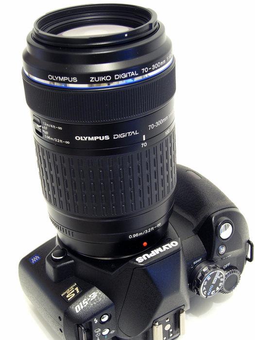 Olympus E-510 och Zuiko Digital 70-300mm