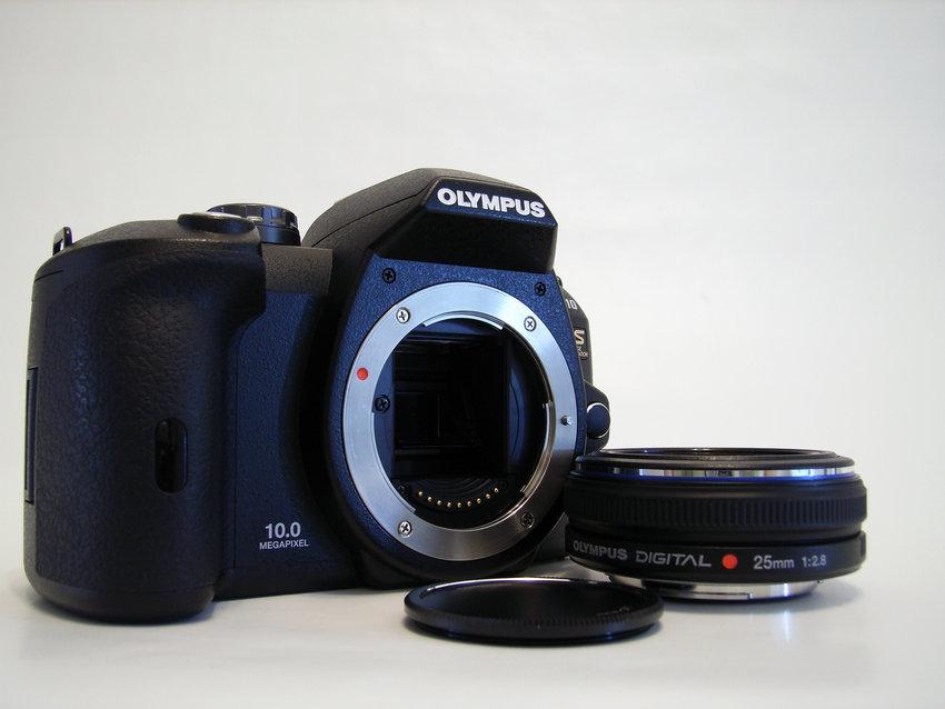Olympus E-510 och ZD 25mm