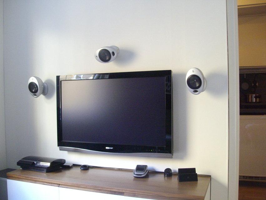 """""""TV-väggen"""", April 2008"""