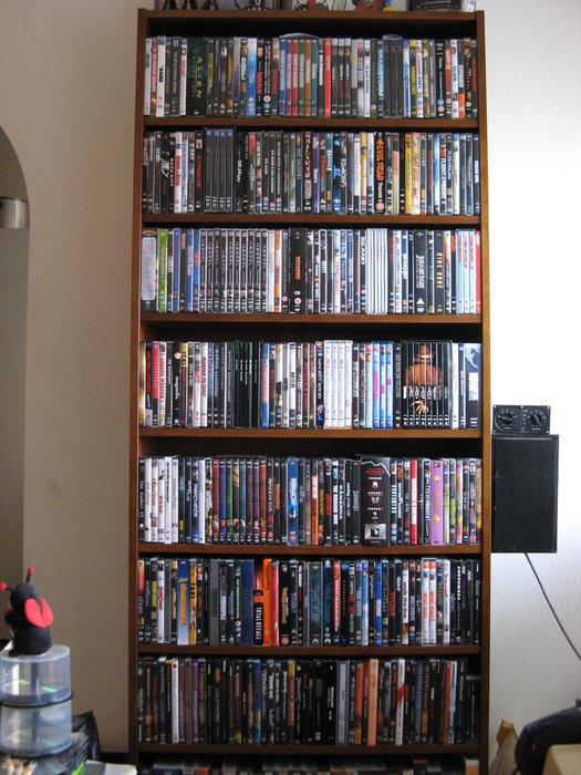 DVD-samlingen ett drygt år senare!
