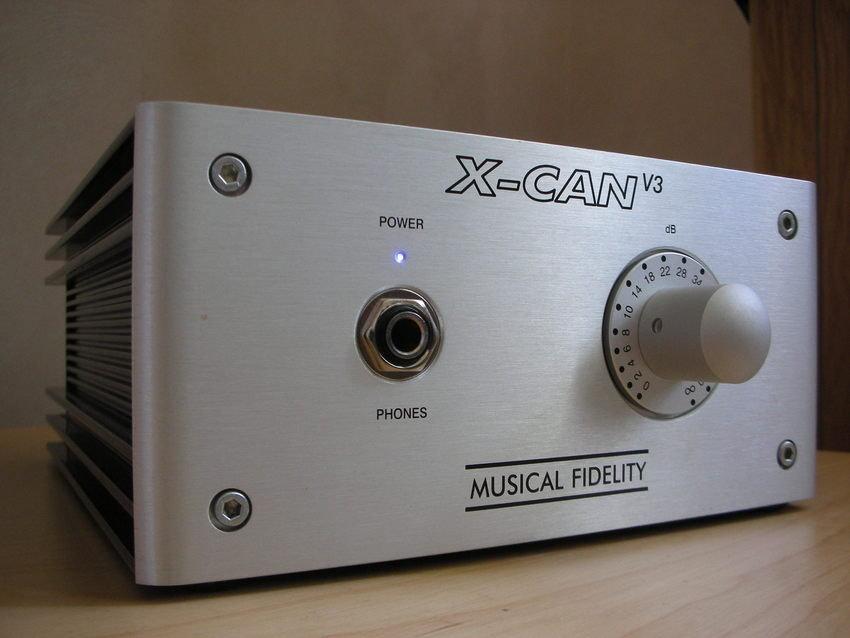 Hörlursförstärkare X-CAN v3