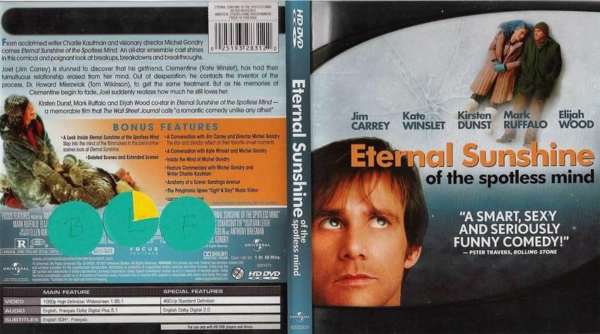 Eternal Sunshine of the spotless mind HD-DVD