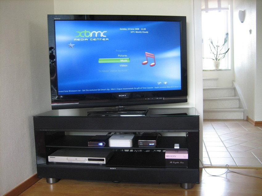 Min TV och ljud anläggning
