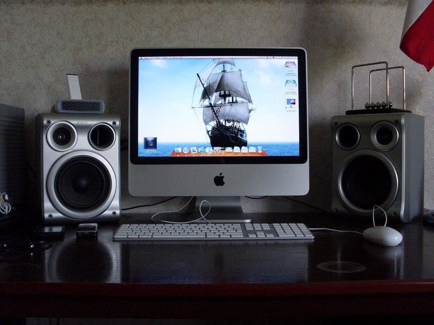 Min iMac och annat tillbehör