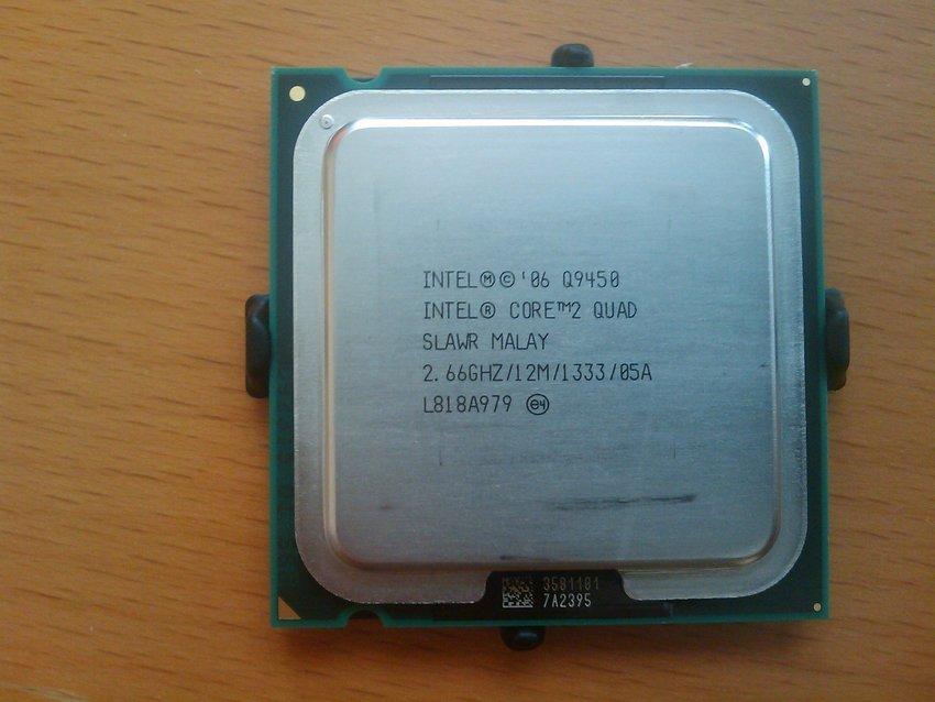 Bilder p� Intel Core 2 Quad Q9450 2,66GHz Socket 775 Box