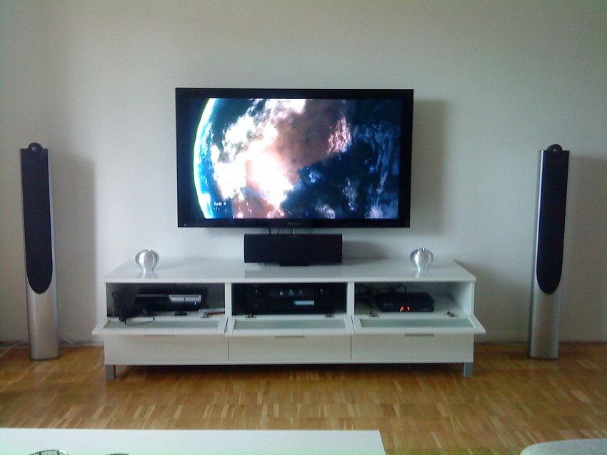 Nya lägenheten med nya recivern denon avr-2809