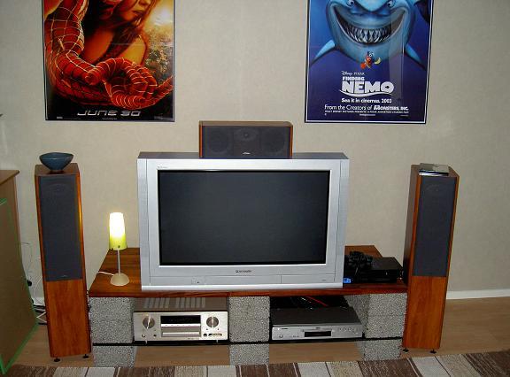 Min tv-bänk