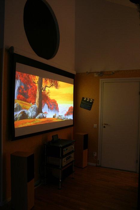 Kung Fu Panda 1080p från HTPC:n