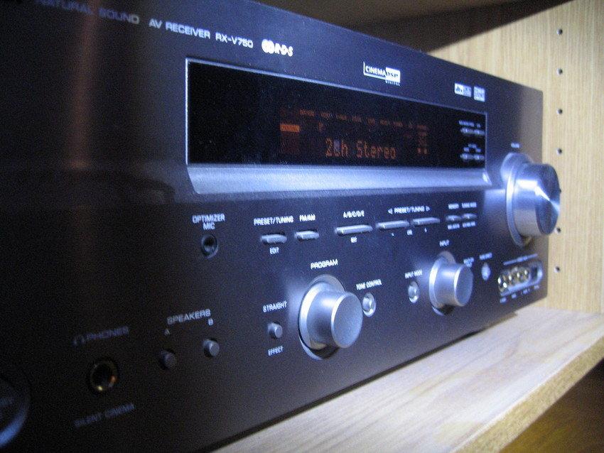 Yamaha RX-V750 - oj, vilken glädje jag haft av denna!