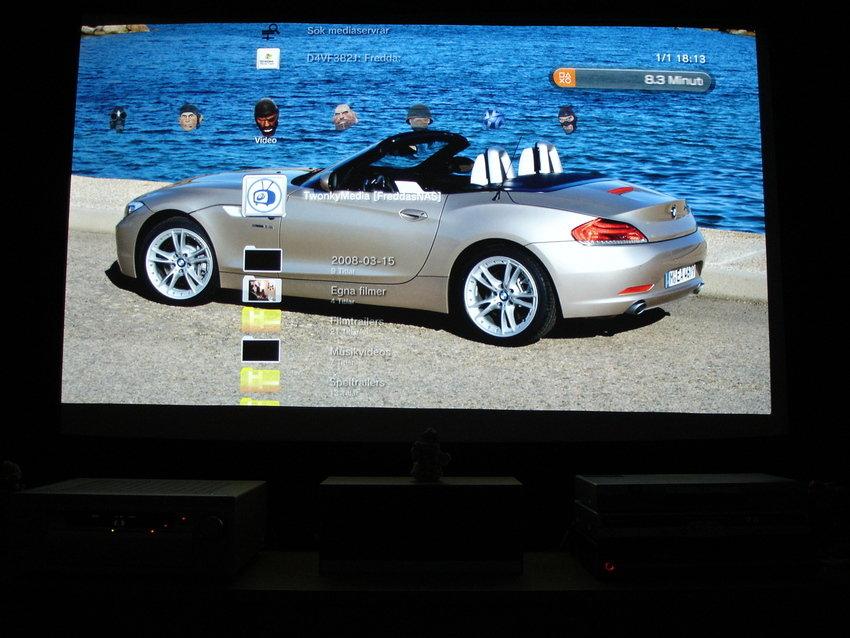 Bakgrundsbild i PS3:an