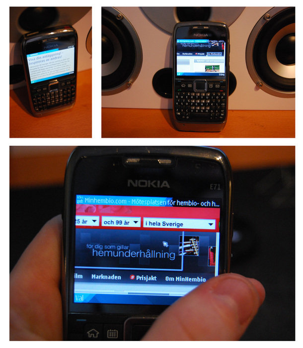 Ny telefon, tillslut. Jag gillar den!