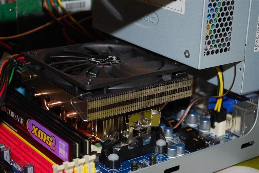 Scythe Shuriken i en Antec NSK1380