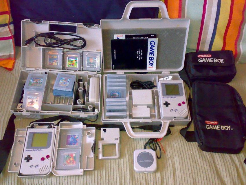 Game Boy samlingen