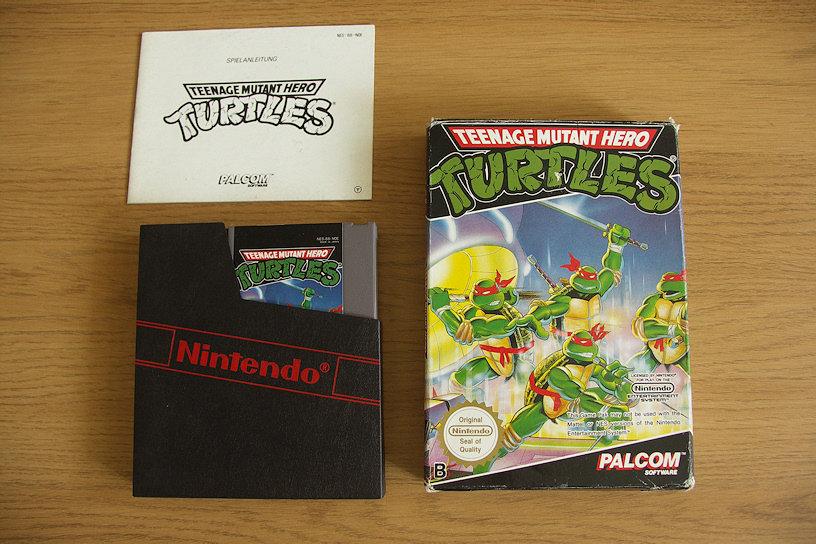 Teenage Mutant Hero (Ninja!) Turtles. 1989 - Palcom Software.