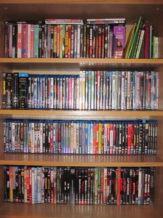 DVD och Bluray filmer