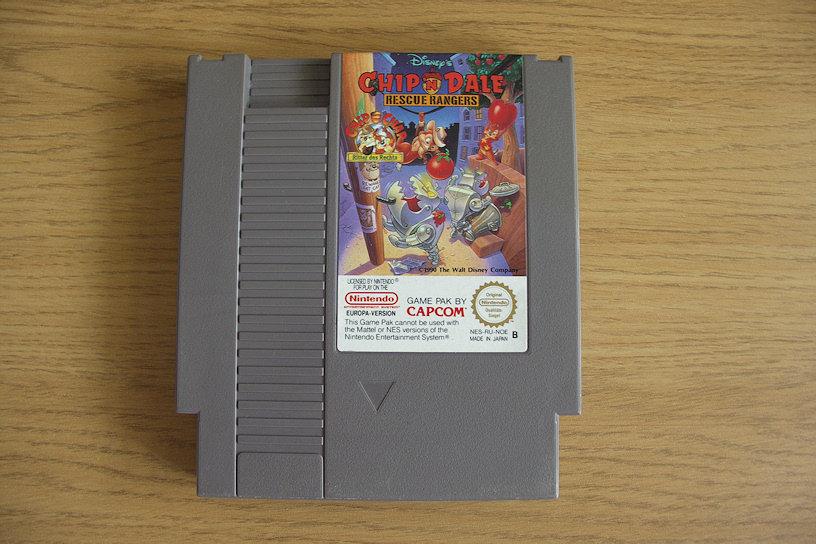 Chip 'n Dale: Rescue Rangers. 1990 - Capcom.